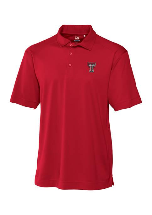 Big & Tall NCAA Texas Tech Red Raiders CB DryTec Genre Polo