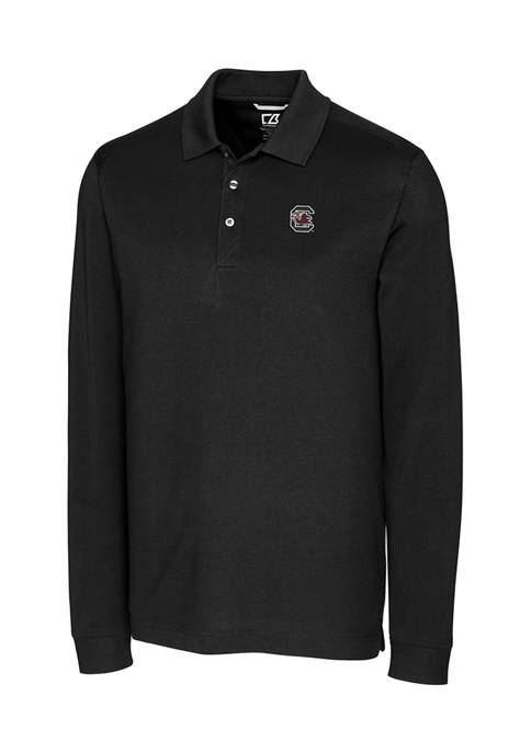 Big & Tall NCAA South Carolina Gamecocks Advantage Long Sleeved Polo