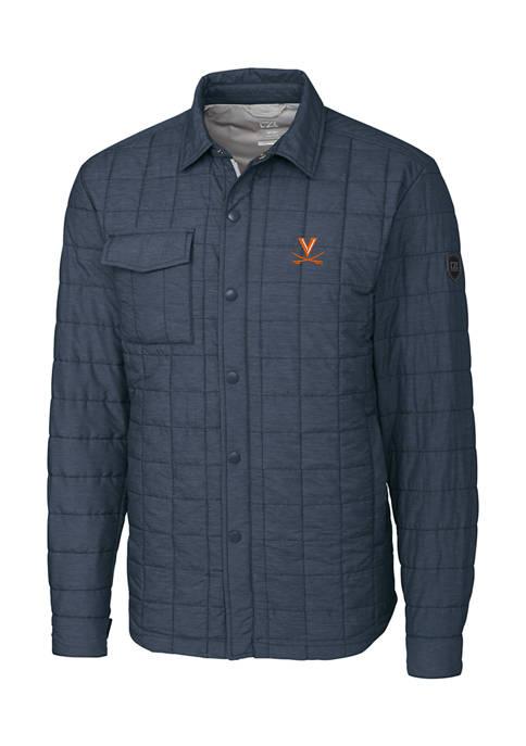 Big & Tall NCAA Virginia Cavaliers Rainier Shirt Jacket