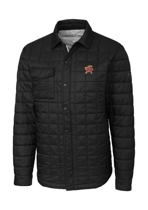 Big & Tall NCAA Maryland Terrapins Rainier Shirt Jacket