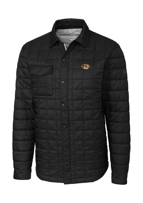 Big & Tall NCAA Missouri Tigers Rainier Shirt Jacket