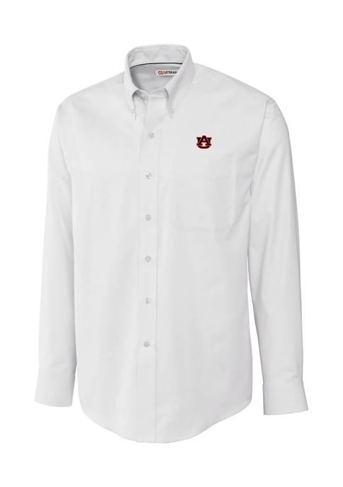 Big & Tall NCAA Auburn Tigers Long Sleeve Epic Easy Care Nailshead Shirt