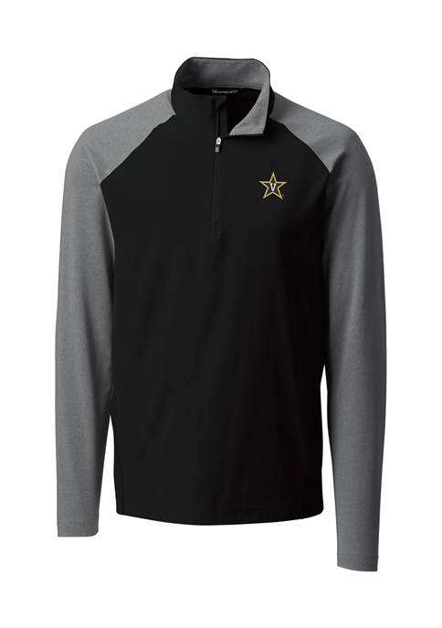 NCAA Vanderbilt Commodores Response Hybrid Half Zip Pullover