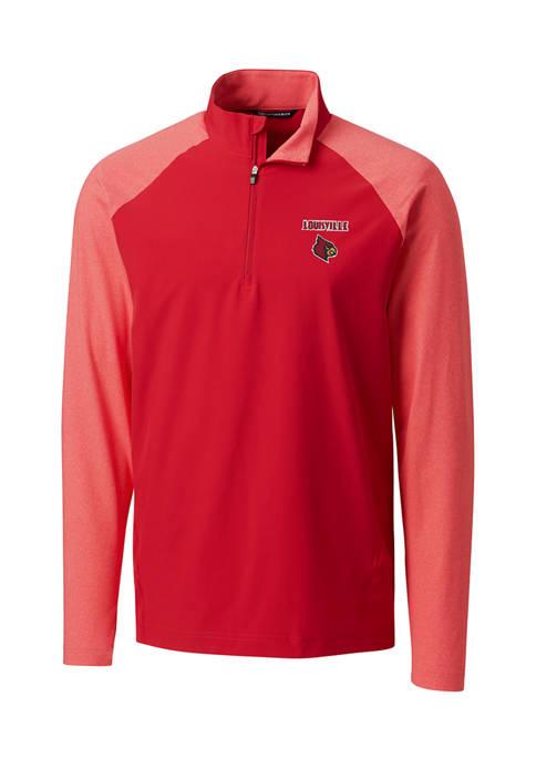 NCAA Louisville Cardinals Response Hybrid Half-Zip