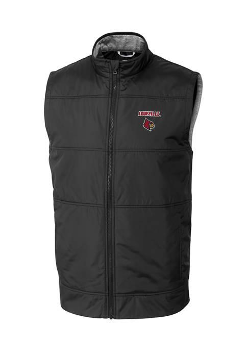 NCAA Louisville Cardinals Stealth Full Zip Vest