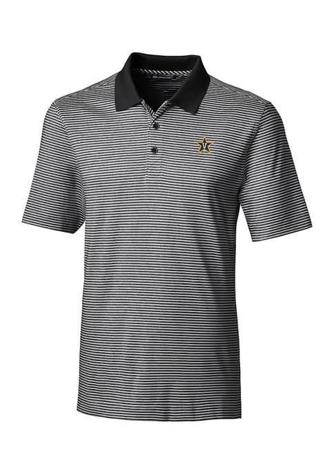 NCAA Vanderbilt Commodores Forge Tonal Stripe Polo Shirt