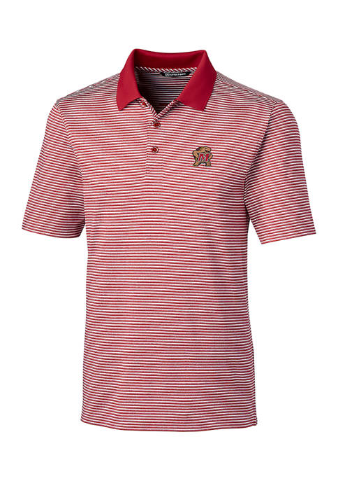 Cutter & Buck NCAA Maryland Terrapins Forge Polo