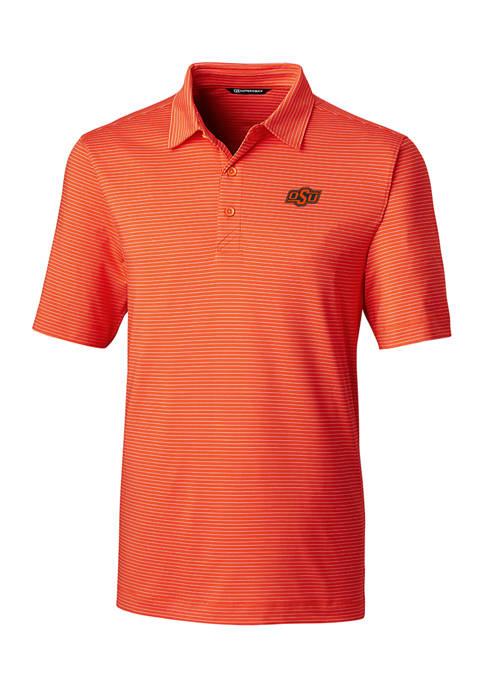 NCAA Oklahoma State Cowboys Forge Pencil Stripe Polo Shirt