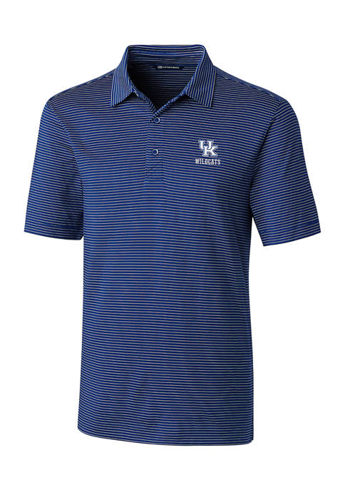 NCAA Kentucky Wildcats Forge Pencil Stripe Polo Shirt
