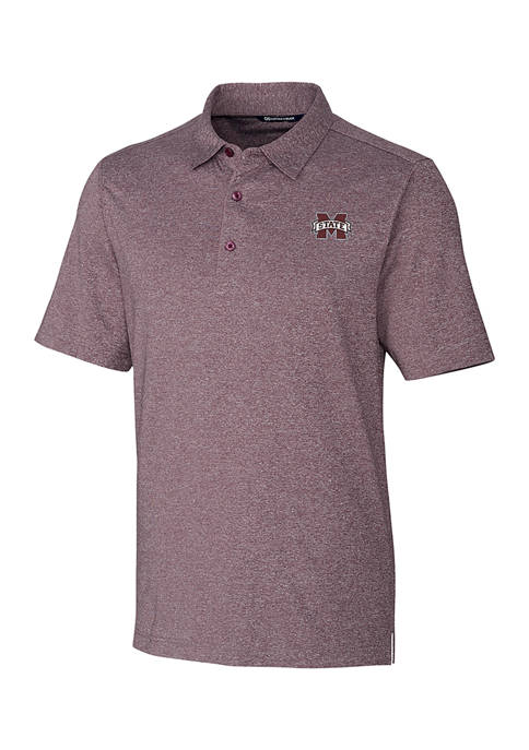NCAA Mississippi State Bulldogs Forge Heather Polo Shirt