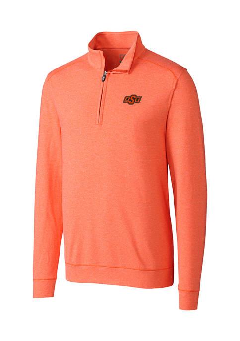 NCAA Oklahoma State Cowboys Shoreline Half Zip Pullover
