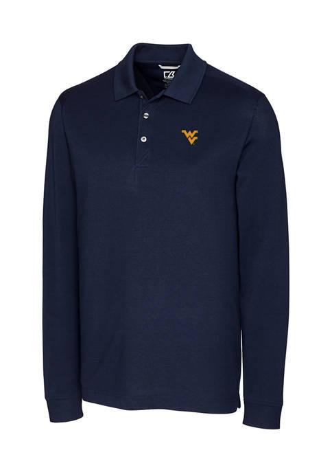 NCAA West Virginia Mountaineers Advantage Polo Shirt