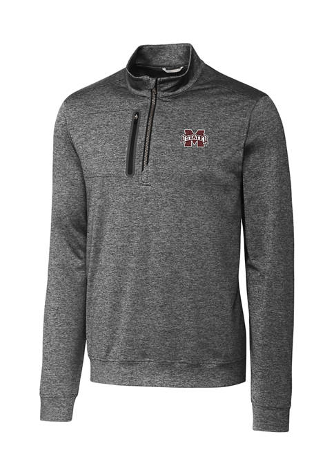 NCAA Mississippi State Bulldogs Stealth Half Zip Pullover
