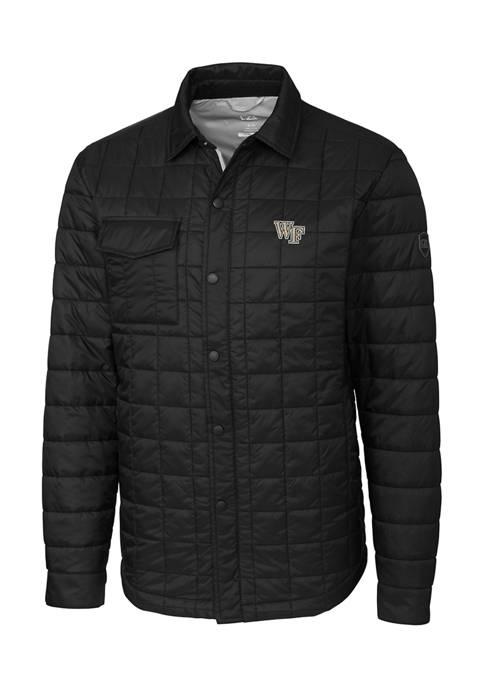 NCAA Wake Forest Demon Deacons Rainier Shirt Jacket