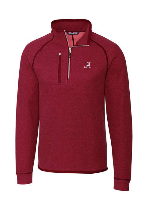 NCAA Alabama Crimson Tide Mainsail Half Zip