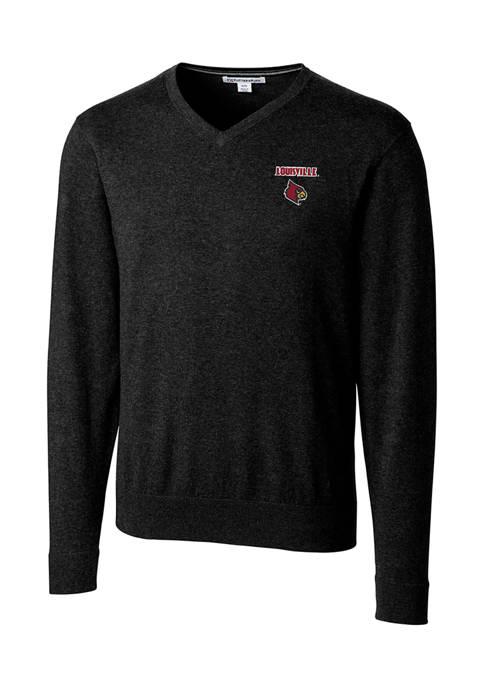 NCAA Louisville Cardinals Lakemont V-Neck Shirt