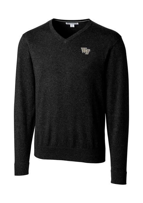 NCAA Wake Forest Demon Deacons Lakemont V-Neck Shirt
