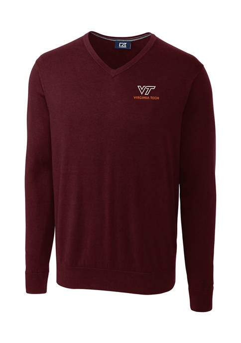 NCAA Virginia Tech Hokies Lakemont V-Neck Shirt
