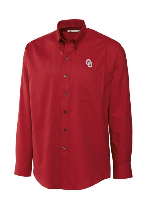 Cutter & Buck NCAA Oklahoma Sooners Nailshead Shirt