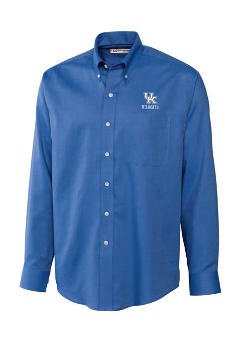 Cutter & Buck NCAA Kentucky Wildcats Nailshead Shirt