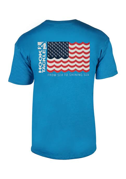 Hook & Tackle Sea to Shining Sea T-Shirt