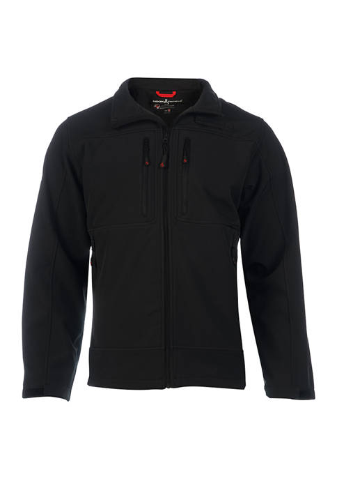 Hook & Tackle Mens Soft Shell Apex Jacket