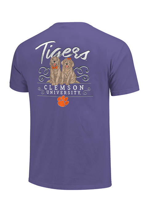 Image One NCAA Clemson Tigers Double Trouble Graphic