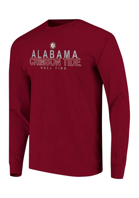 Image One NCAA Alabama Crimson Tide Long Sleeve
