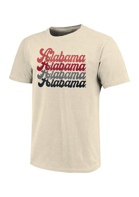 Image One NCAA Alabama Crimson Tide Expanded Script