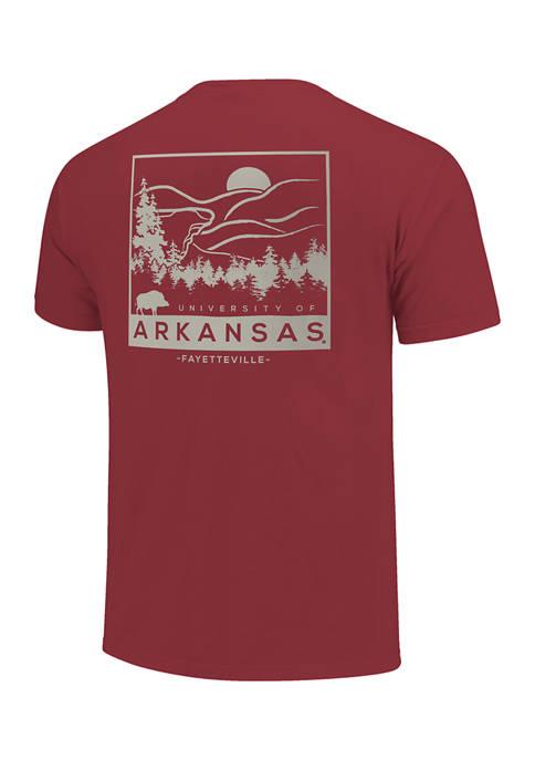 Image One NCAA Arkansas Razorbacks Scene Sketch Graphic
