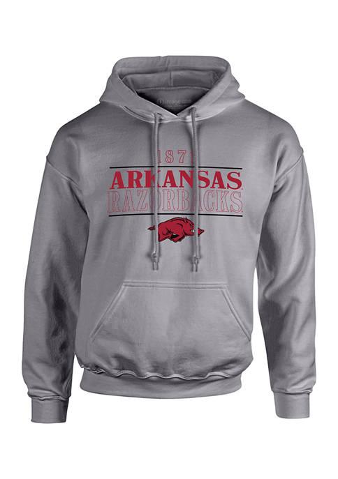 Image One NCAA Arkansas Razorbacks University Type Hooded