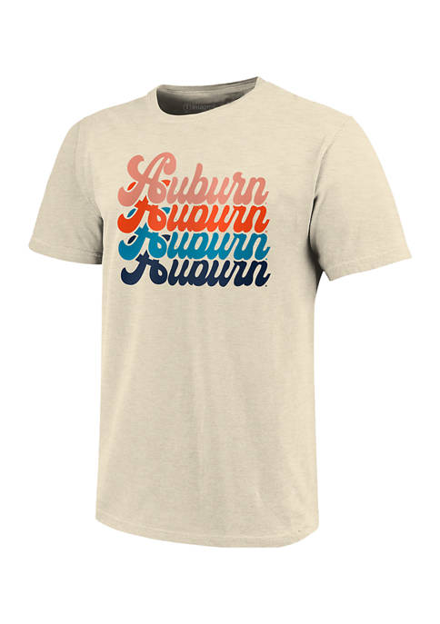 Image One NCAA Auburn Tigers Expanded Script T-Shirt
