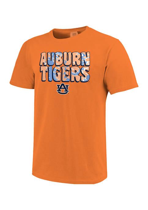 Image One NCAA Auburn Tigers Groovy Simple Pattern
