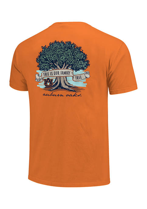 Image One NCAA Auburn Tigers Family Tree Graphic