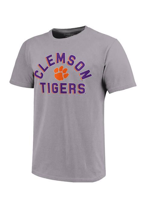 NCAA Clemson Tigers  Retro Stack Short Sleeve T-Shirt