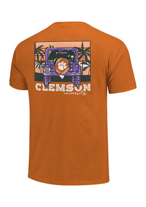 Image One NCAA Clemson Tigers Jeep Adventure T-Shirt