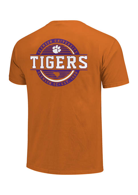 Image One NCAA Clemson Tigers Stamp Logo Graphic