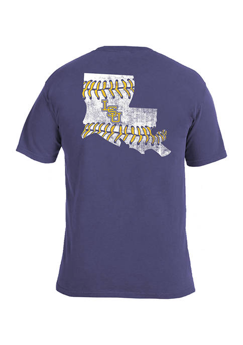 Image One NCAA LSU Tigers Comfort Color T-Shirt