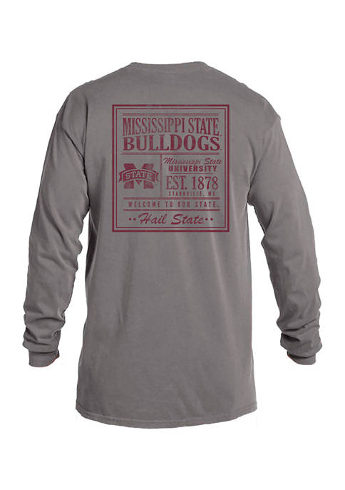 Image One NCAA Mississippi State Bulldogs Comfort Color