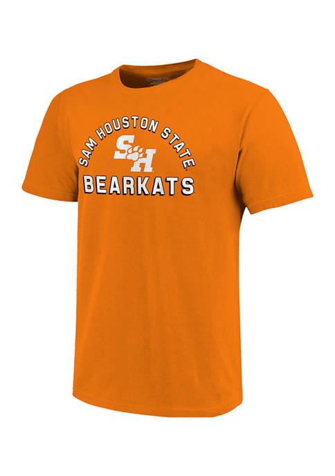 NCAA Sam Houston State Bearkats Short Sleeve  Retro Stack Graphic T-Shirt