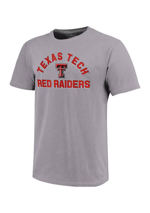 NCAA Texas Tech Red Raiders Short Sleeve Retro Stack Graphic T-Shirt