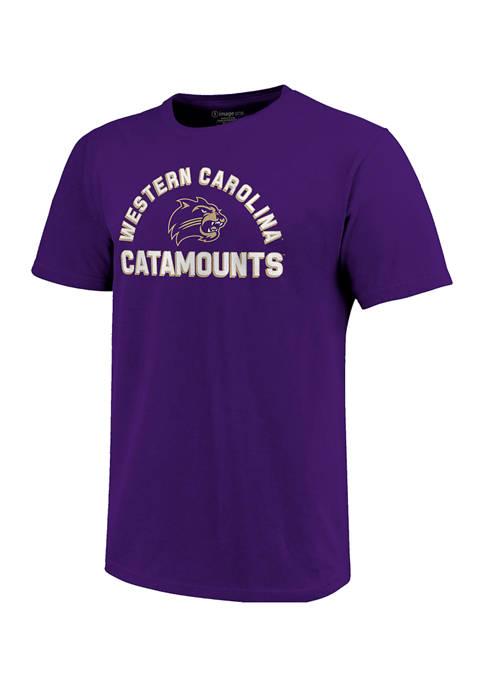 NCAA Western Carolina Catamounts Short Sleeve Retro Stack Graphic T-Shirt