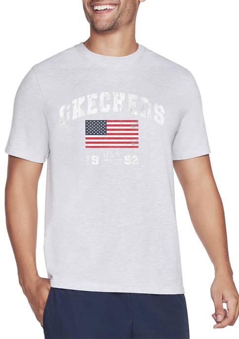 Skechers Dreamy Americana Graphic T-Shirt