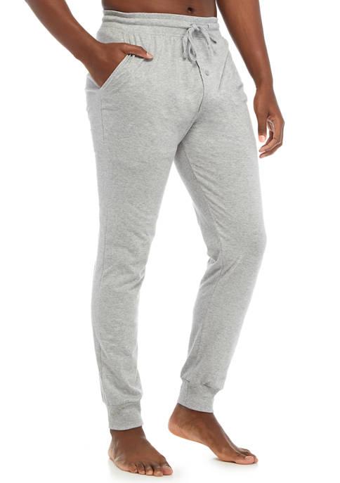 Hanes® Knit Jersey Jogger Sleep Pants