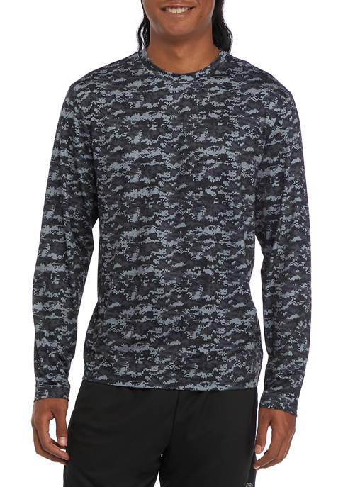 Long Sleeve Camouflage T-Shirt