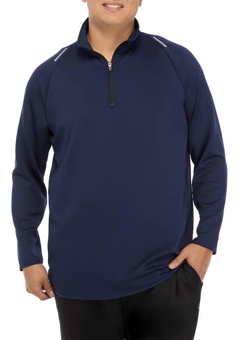 Big & Tall Zip Pullover