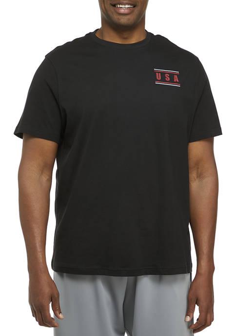 Big & Tall Short Sleeve Cotton Graphic T-Shirt