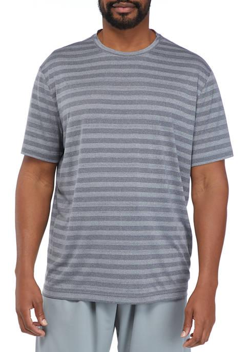 Big & Tall Short Sleeve Striped T-Shirt