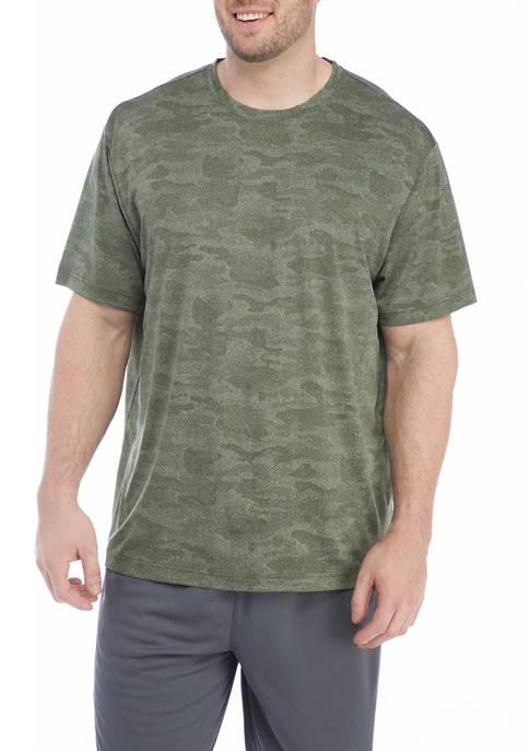 Big & Tall   Short Sleeve Crew Neck T-Shirt
