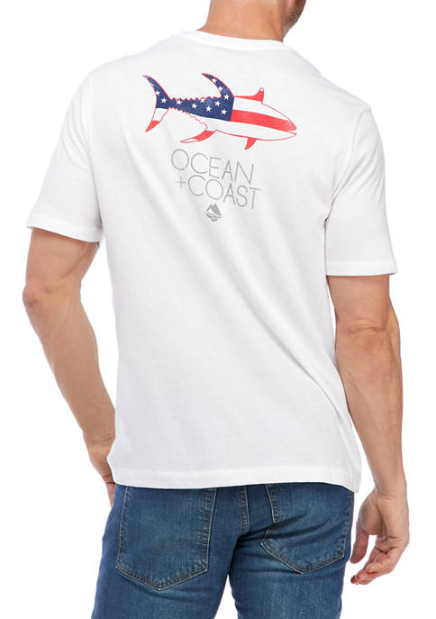 Ocean & Coast® Short Sleeve Graphic T-Shirt